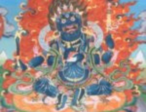 直貢噶舉護法~「吉祥上樂總攝輪與大黑天修持羯磨次第明晰燈矩」共修